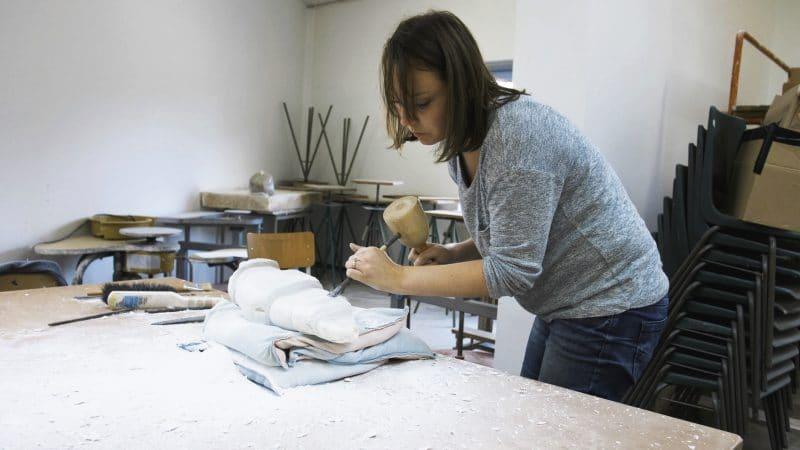 Creatief aan de slag bij Kaliber Kunstenschool
